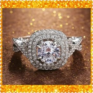 ⭐⭐JUST IN⭐⭐14K White Gold Filled